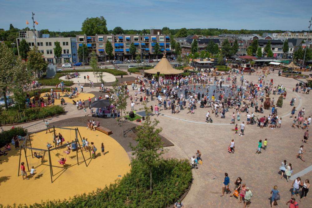 ARC18: Ede Marktplein, van Marktplein naar Overtuin – HOSPER