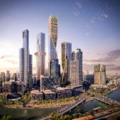 UNStudio wint prijsvraag in Melbourne met ontwerp 'Green Spine'