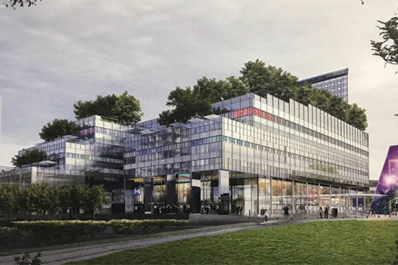 Jean Nouvel ontwerpt congrescentrum Heizel