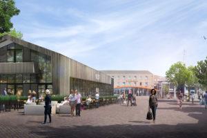 Korfker Architecten ontwerpt horecapaviljoen Emmeloord-Centrum