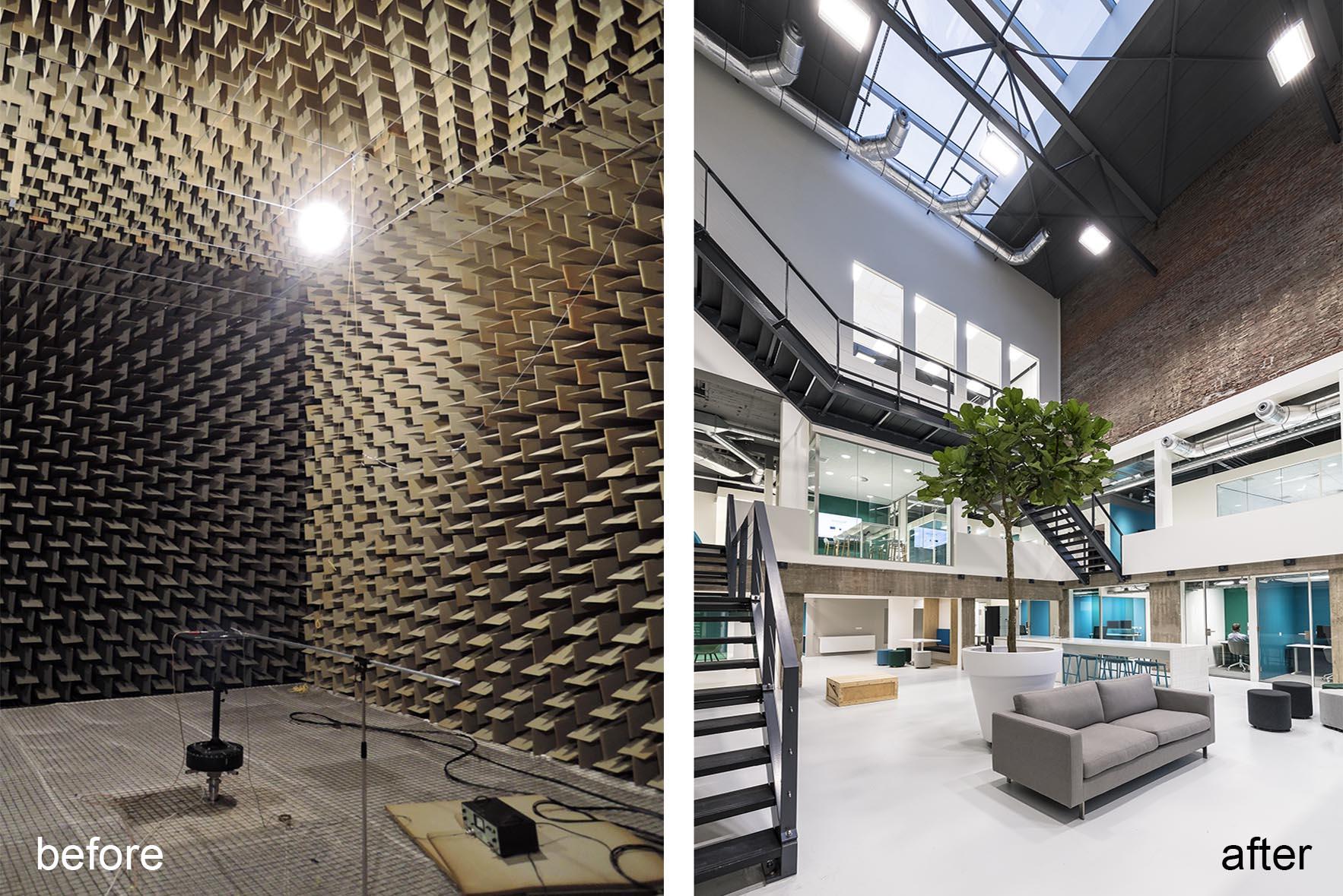 <p>Dode kamer voor, atrium na, fotografie Christiaan de Bruijne</p>