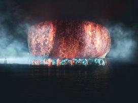 Inzending prijsvraag Aziatische Spelen door Benthem Crouwel Architects en Powerhouse Company