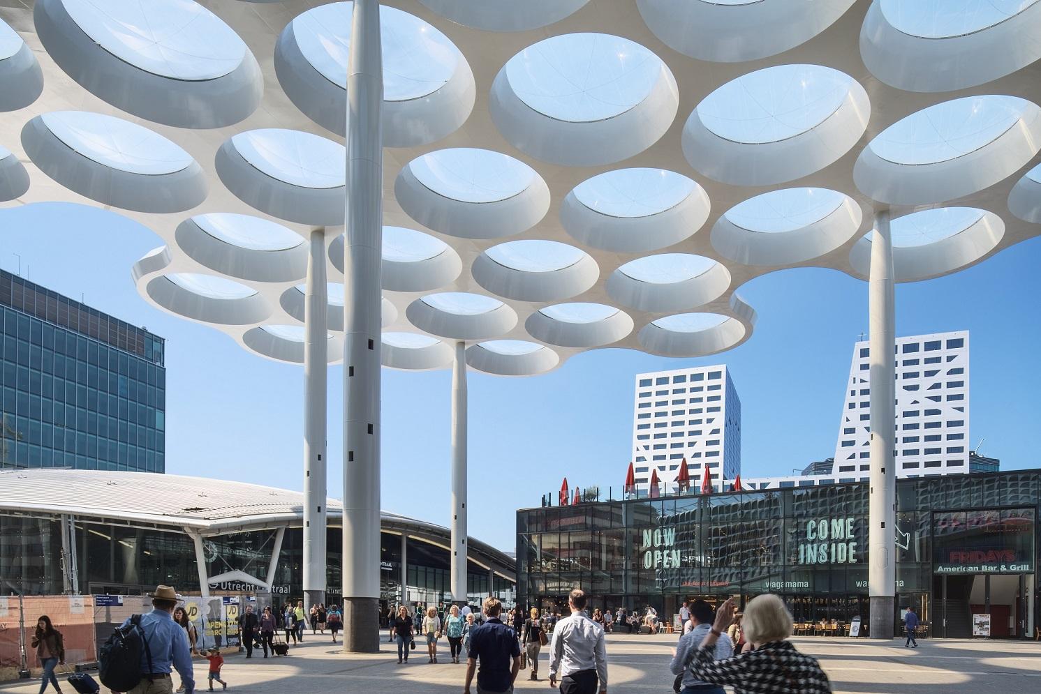 <p>Fietsenstalling Utrecht – Ector Hoogstad Architecten, beeld Petra Appelhof </p>
