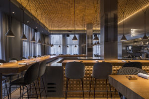 Nominatie ARC18 Interieur: Restaurant 212 – Concrete