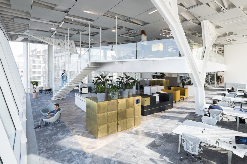 Interieur hoofdkantoor van Amvest – FIRM architects