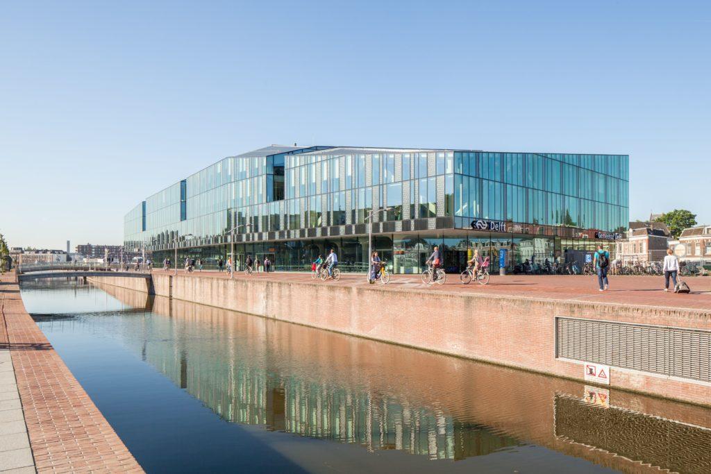 Station en gemeentehuis Delft - Mecanoo Architecten