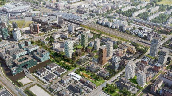 Plannen voor park in Amstel III