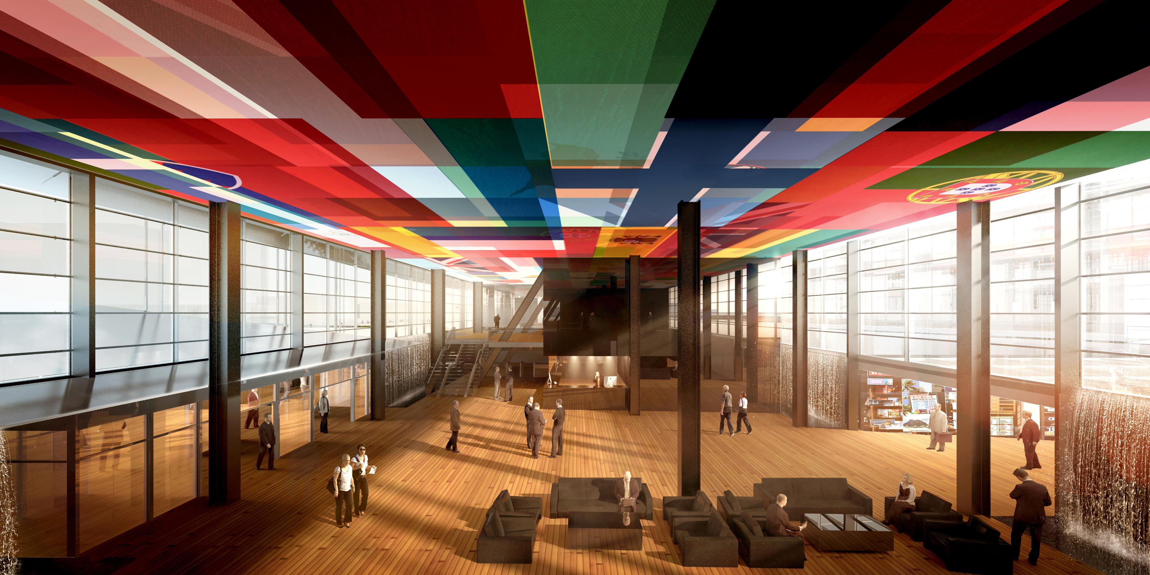 <p>European Patent Office, Rijswijk – Ateliers Jean Nouvel en Dam & Partners Architecten. . Beeld Ateliers Jean Nouvel, Dam & Partners en TBI Consortium New Main</p>