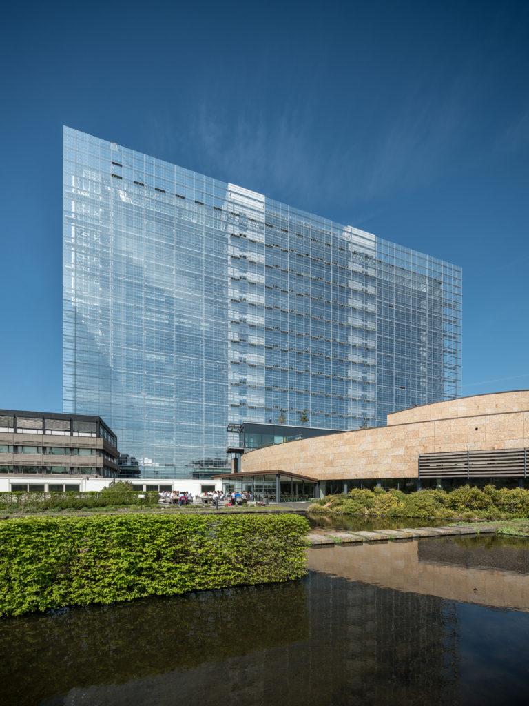 European Patent Office, Rijswijk - Ateliers Jean Nouvel en Dam & Partners Architecten. Beeld Ossip van Duivenbode