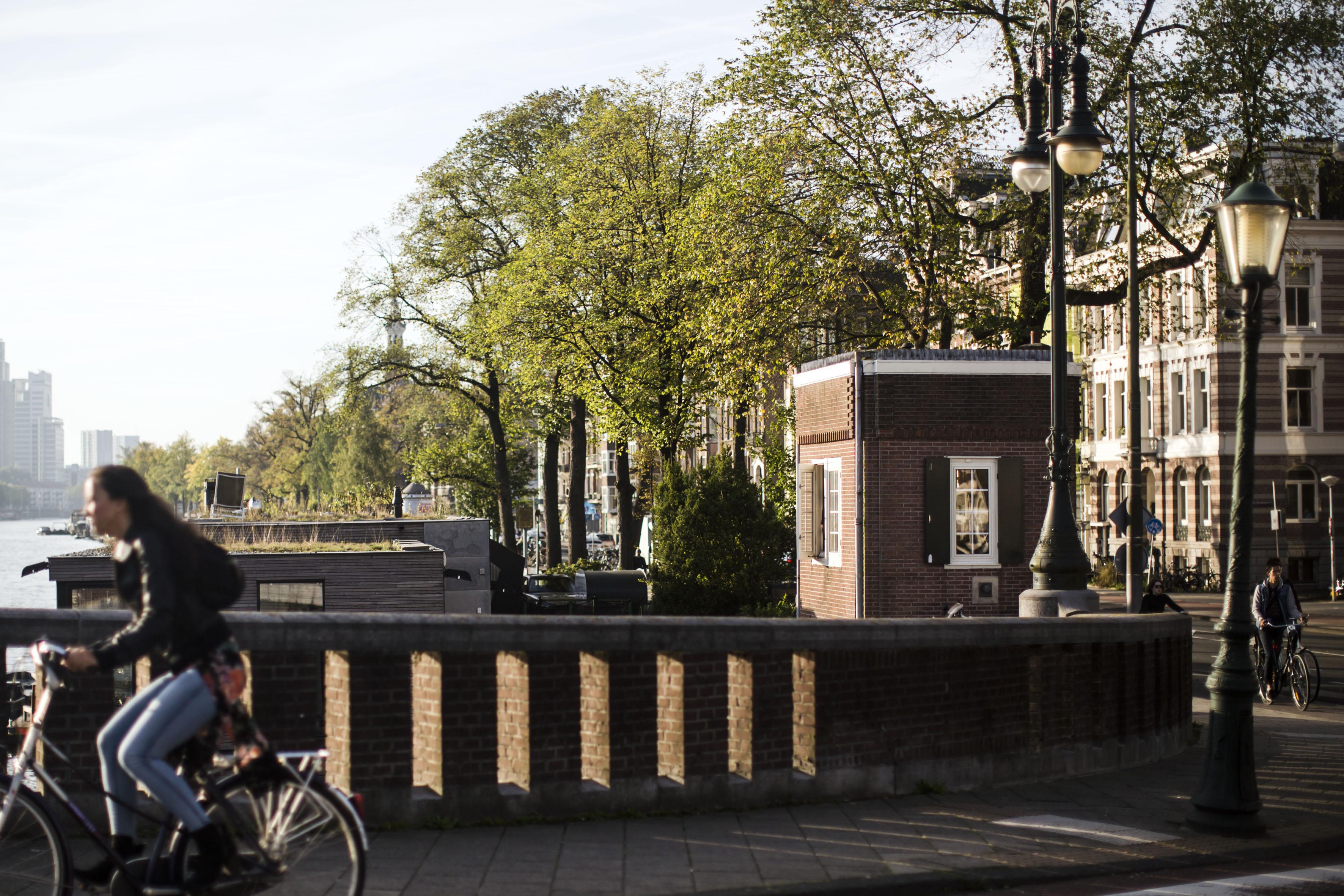 <p>Nieuwe Amstelbrug. Foto: Mirjam Bleeker</p>