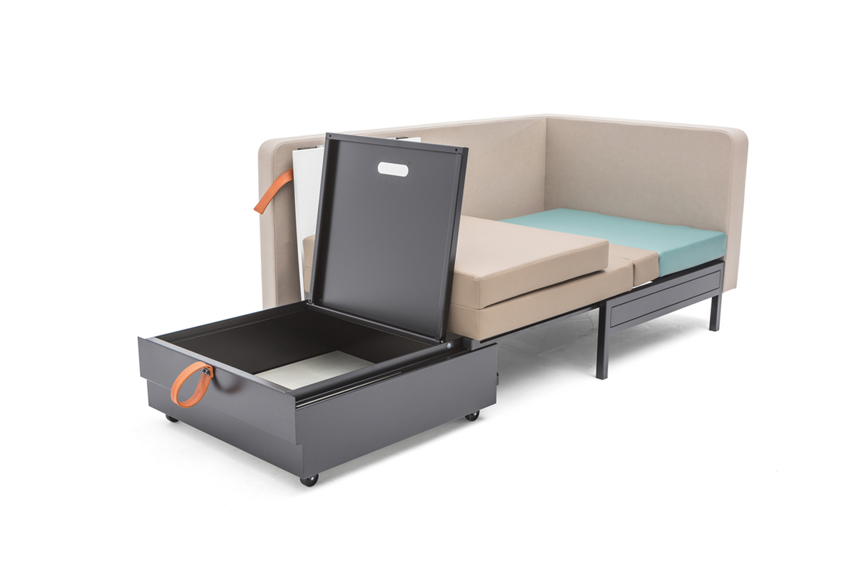 <p>Rooming in meubel &#8211; opbergruimte linnengoed (Ahrend)</p>