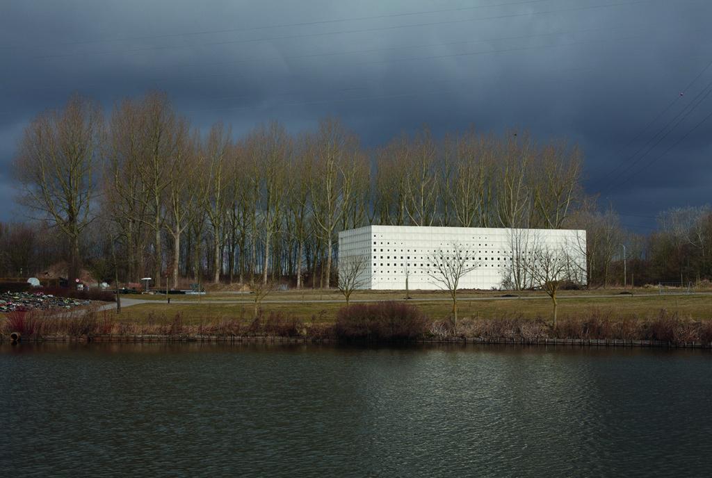Crematorium Heimolen door KAAN, beeld Stijn Bollaert,