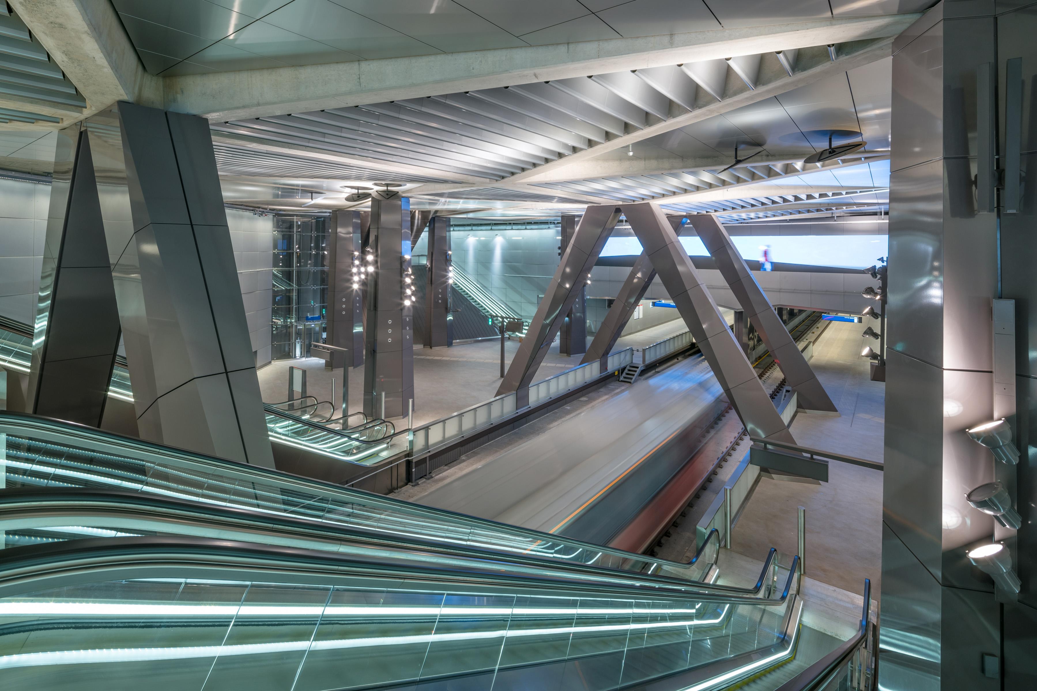 <p>Station Amsterdam beeld: Jannes Linders</p>