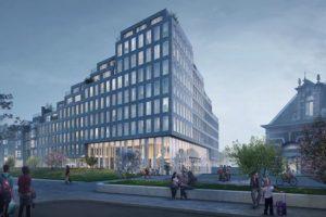 Nieuw woongebouw voor stationsomgeving Delft