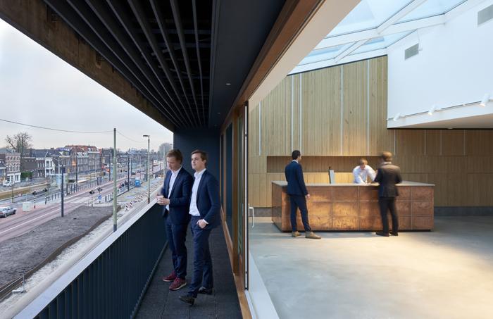 ARC18: Dakterras Societeit Phoenix – Bendien/Wierenga architecten