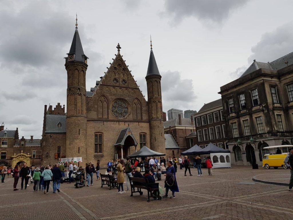 Binnenhof 2018. Beeld Alwin de Wilde