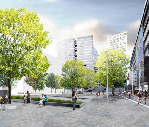 Oplevering Jaarbeursplein Utrecht