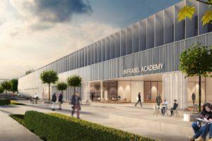 Start bouw school door Atelier Kempe Thill en CANEVAS