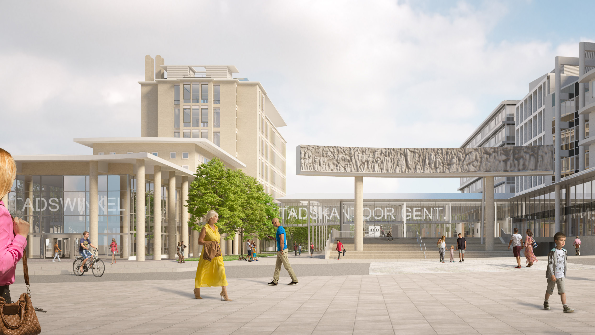 <p>Stadskantoor Gent &#8211; Kraaijvanger Architecten</p>