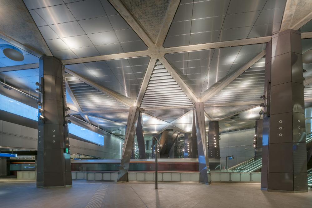 Winnaar ARC18 Architectuur: Noord/Zuidlijn Amsterdam – Benthem Crouwel Architects