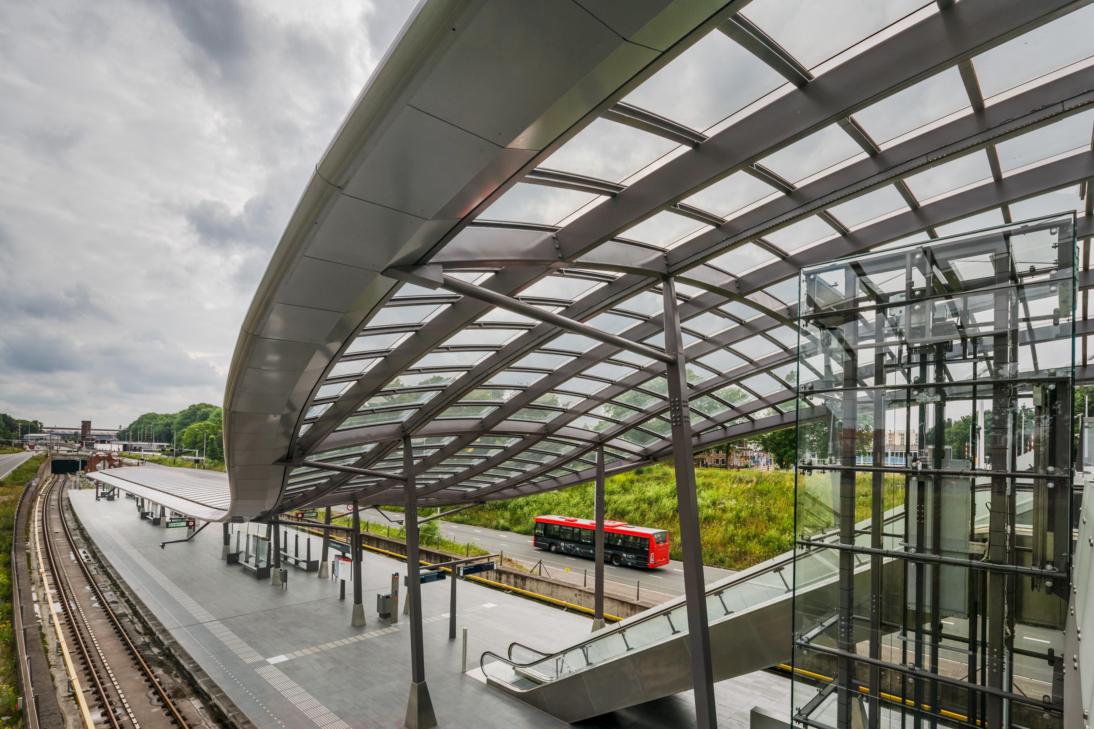 <p>Station Noorderpark: Jannes Linders</p>