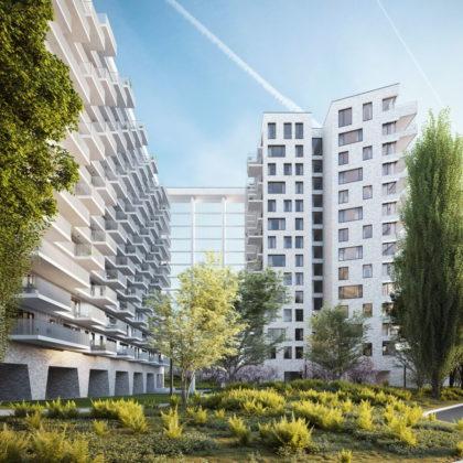 Render: Woonproject Louise Marie in Antwerpen