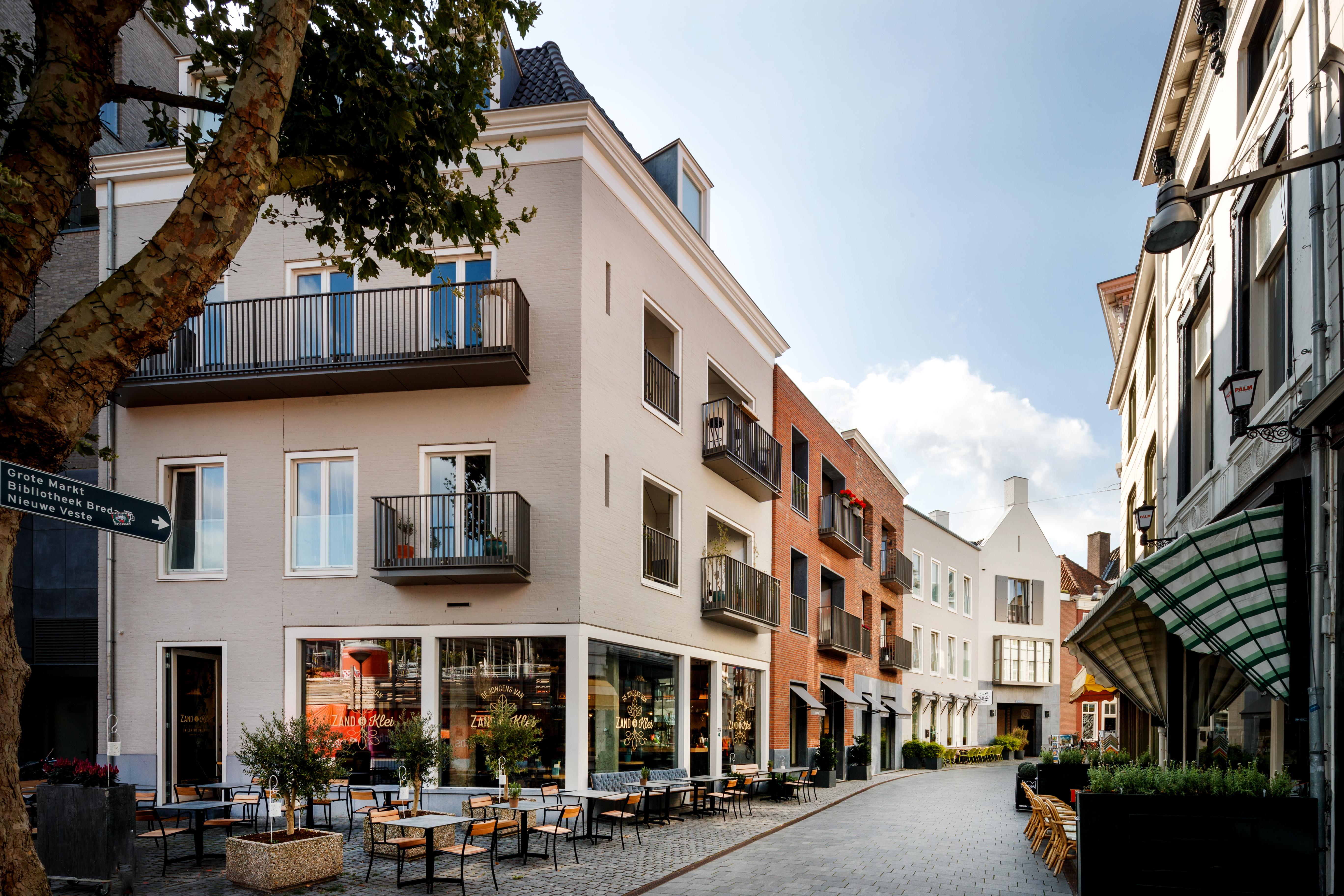 <p>Straatbeeld Veemarktstraat</p>