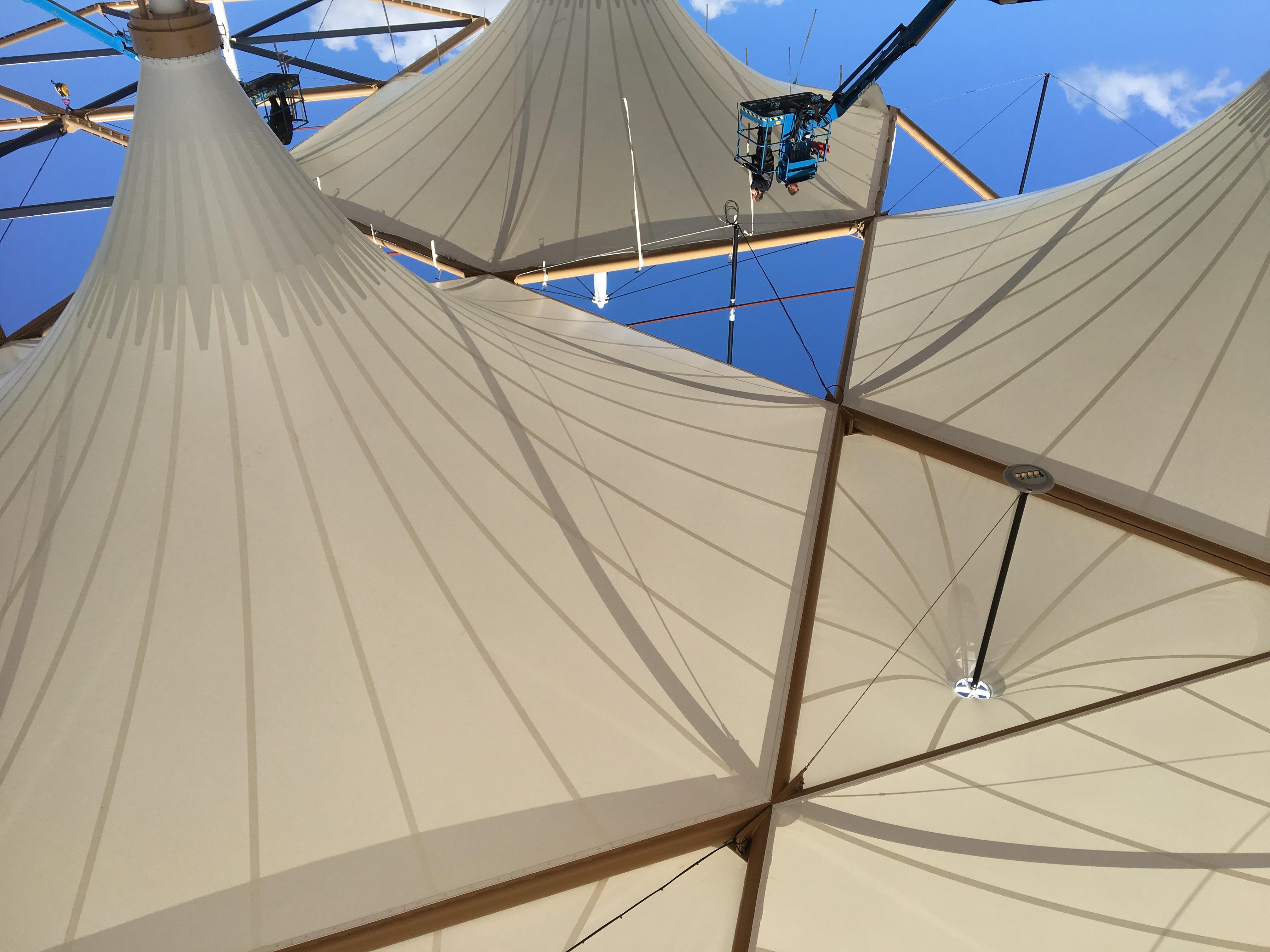 <p>Opbouw van de kelken, foto AnnA</p>