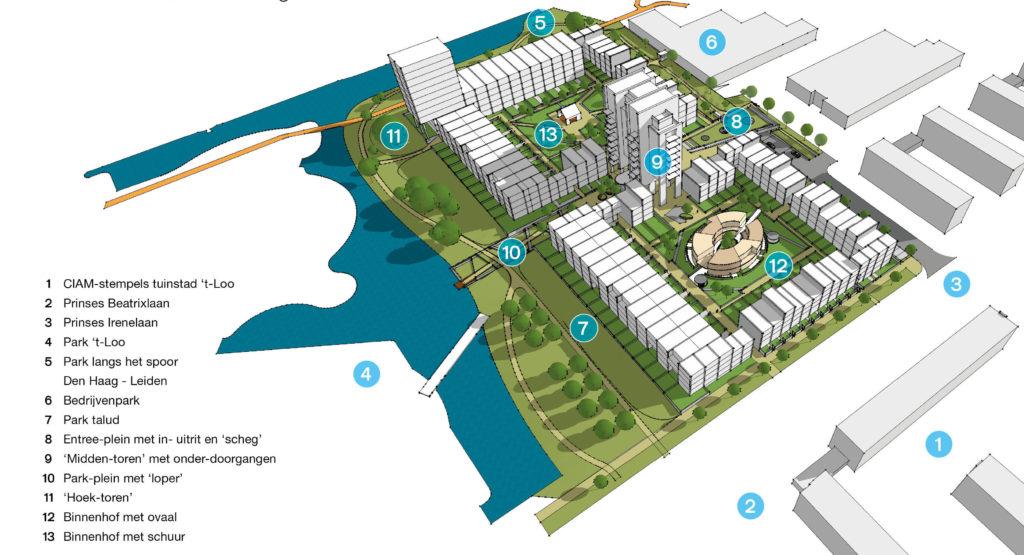 Woningbouw Voorburg - Bos Hofman Arkitektenkombinatie