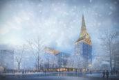 Bouw Golden City door KCAP en ORANGE in St-Petersburg vordert gestaag