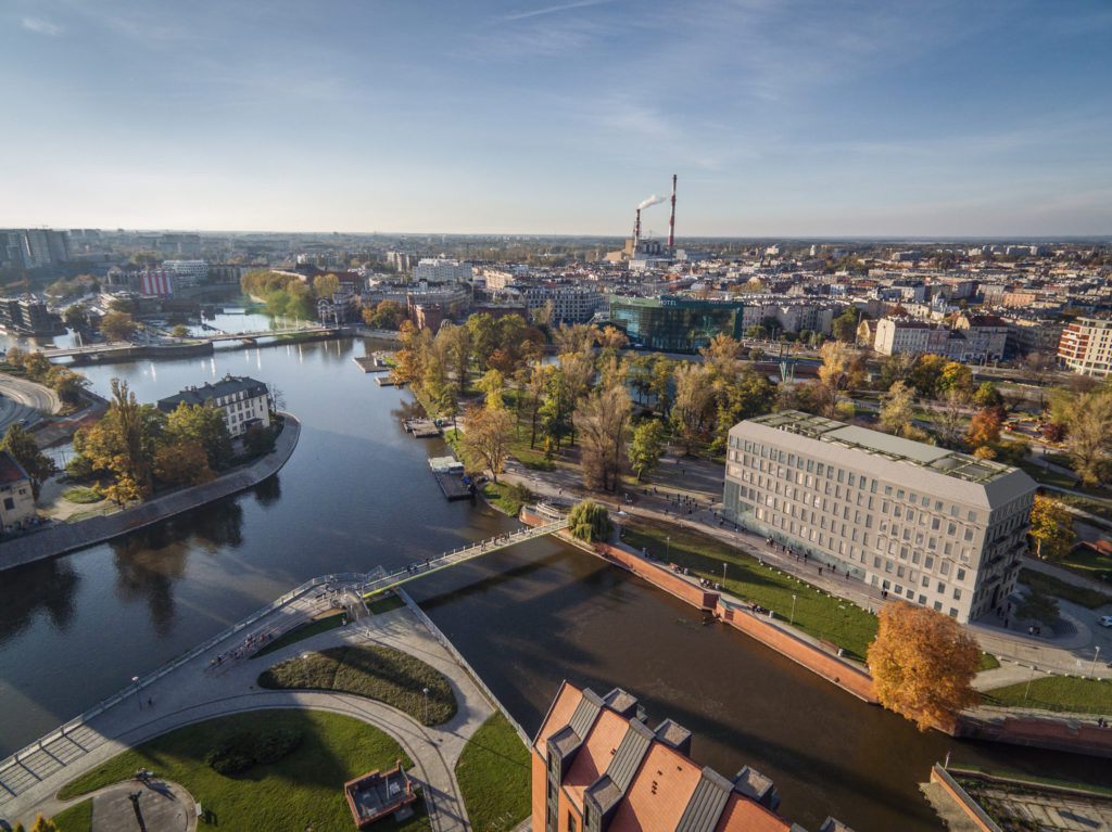 Renovatie erfgoed Wrocław, Polen - MVRDV