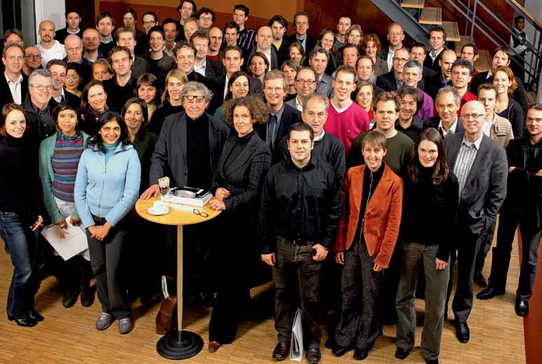 Deelnemers en mentoren Het Experiment 2006-2008, beeld Bob Goedewaagen