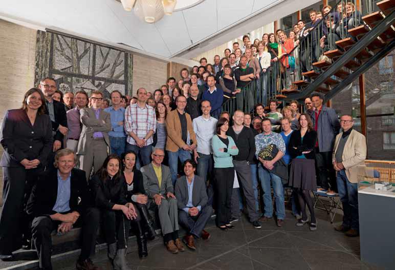 Deelnemers en mentoren Beroepservaring SLA 2010-2012, beeld Bob Groedewaagen