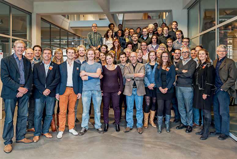 Deelnemers en mentoren De Beroepservaring 2012-2014, beeld bkvisuals