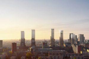 Concrete plannen voor hoogbouw in Den Haag