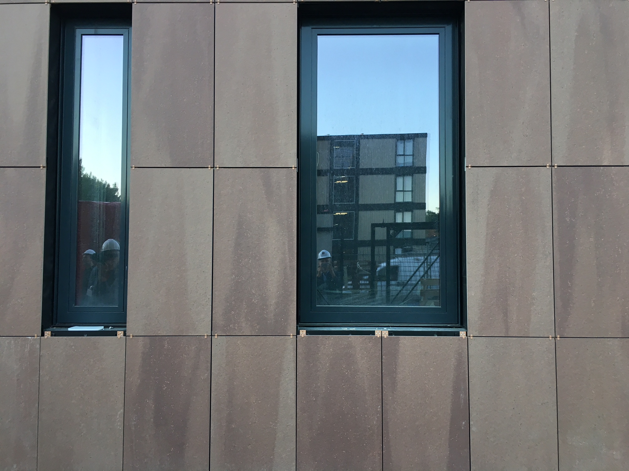 <p>Projectbezoek City Harbour Hotel Amsterdam, beeld Harm Tilman</p>