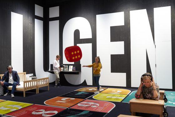 Tentoonstelling over fakenieuws in museum Stapferhaus Lenzburg