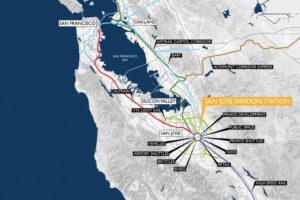 Plan voor station San Jose