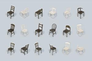New Old Chairs door Studio Simone Post
