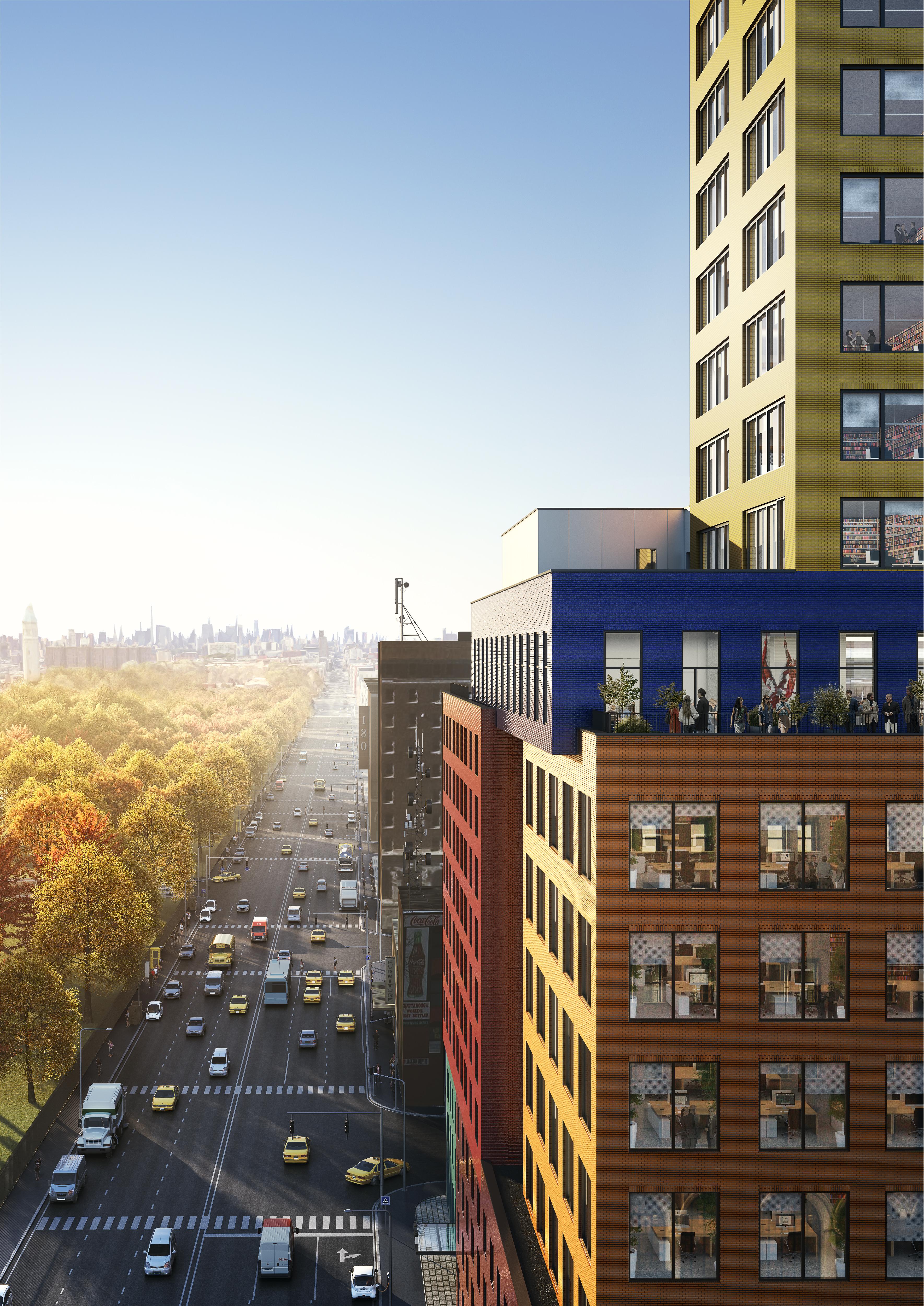 <p>Radio Tower & Hotel in New York, beeld MVRDV</p>