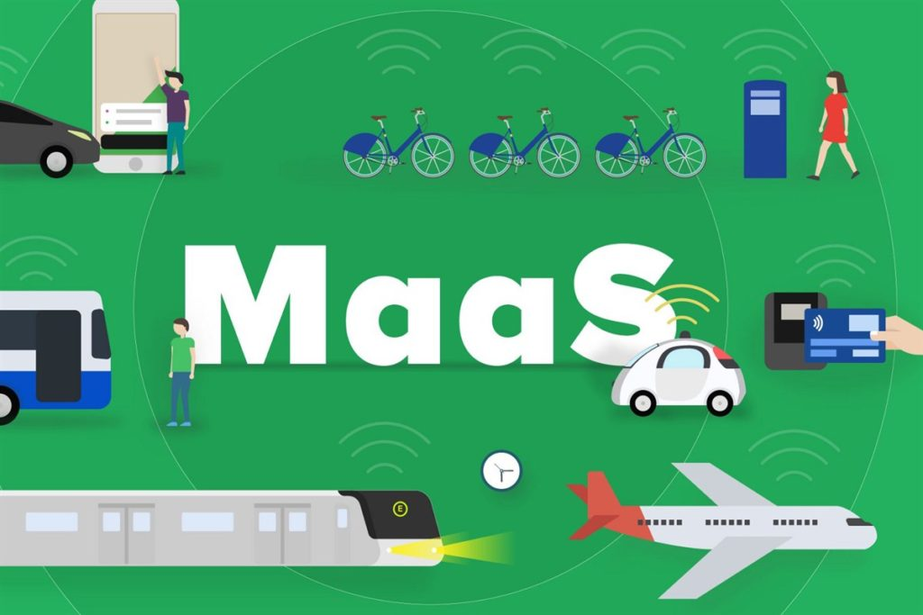 Mobility as a Service of Amsterdam aan de MaaS