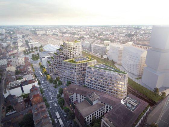 Atelier Kempe Thill en Atelier 56S ontwerpen multifunctioneel gebouw Beaumont Eurorennes