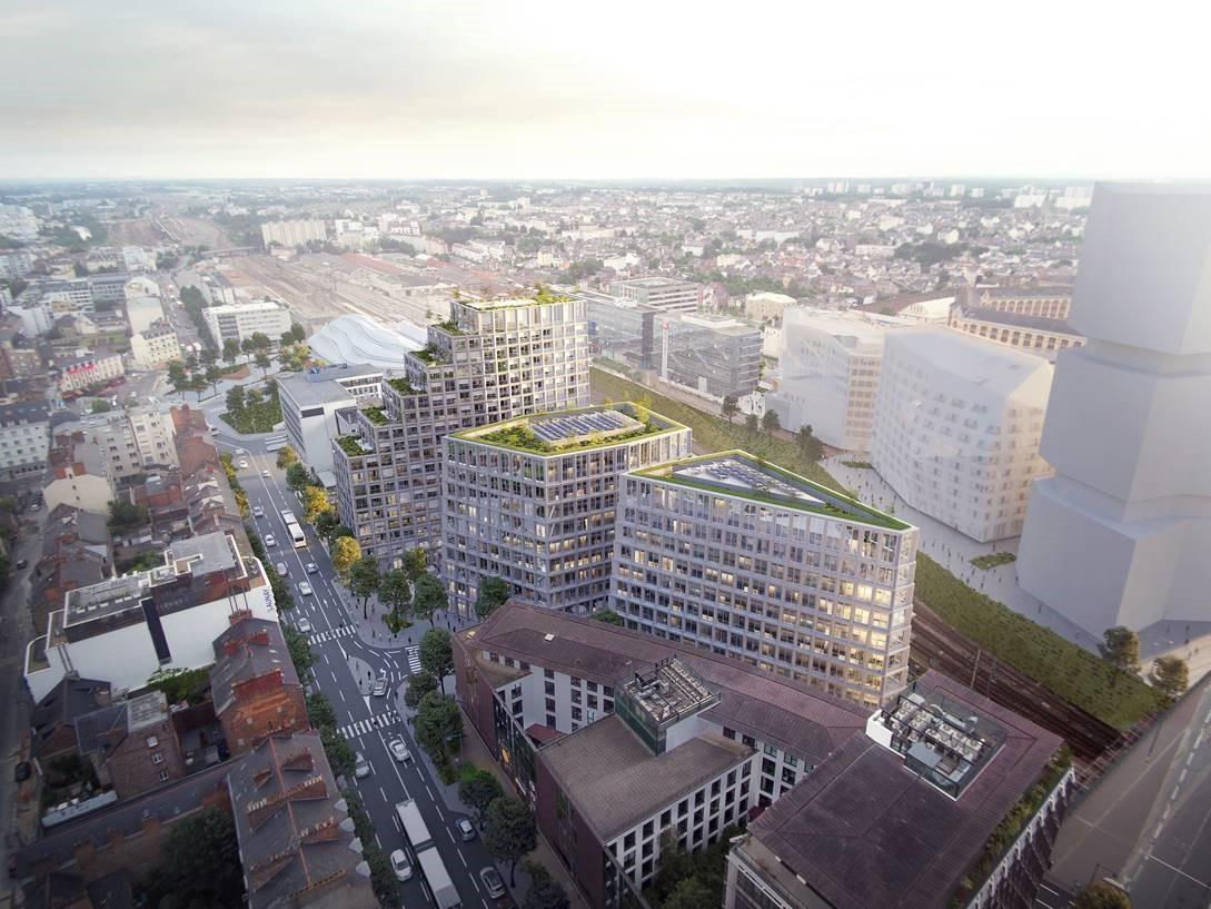 <p>Beaumont Eurorennes in Rennes (FR) door Atelier Kempe Thill en Atelier 56S</p>