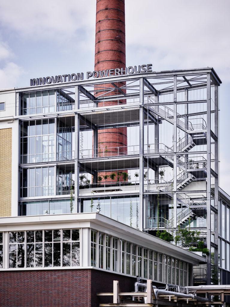 Innovation Powerhouse Eindhoven door Atelier van Berlo i.s.m. Eugelink architectuur & De Bever Architecten, beeld Tycho Merijn