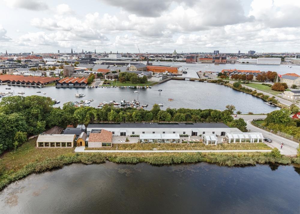 noma, Kopenhagen - Bjarke Ingels Group. Beeld Rasmus Hjortshoj