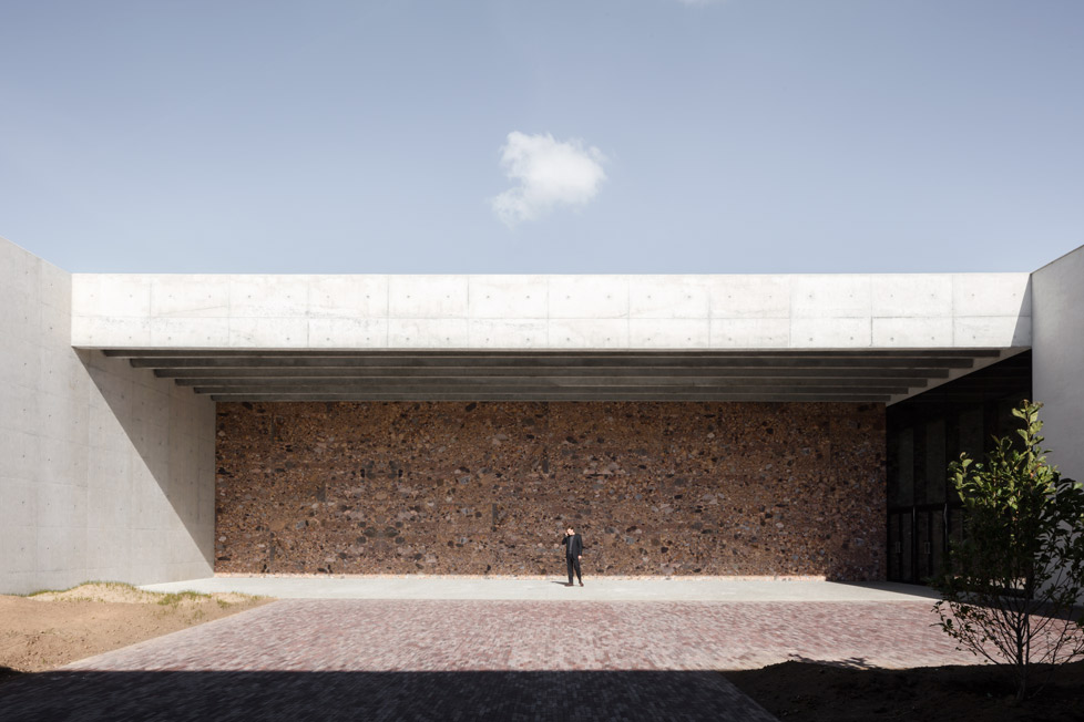 Crematorium Siesegem -KAAN Architecten. beeld Sebastian van Damme