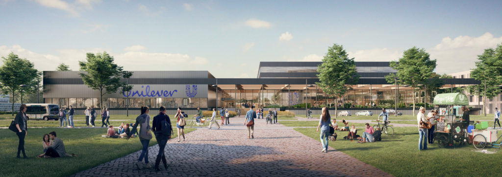 Unilever Food Centre Wageningen door Paul de Ruiter Architects en Fokkema en Partners