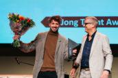 Tomas Dirrix ontvangt ARC18 Jong Talent Award