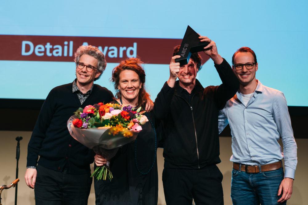 Happel Cornelisse Verhoeven ontvangt ARC18 Detail Award voor Cadix Antwerpen