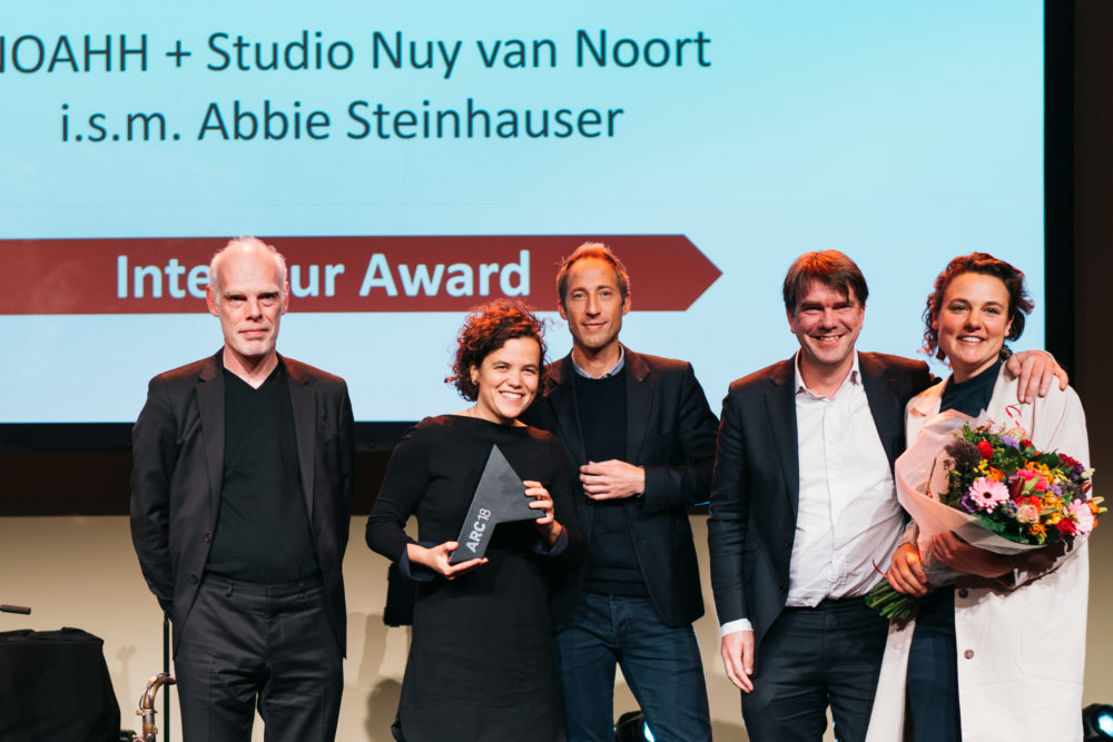 ARC18 Interieur Award naar MFC Doelum in Renkum